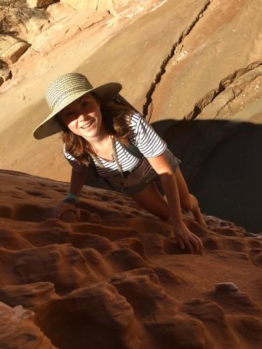 desert-climbing